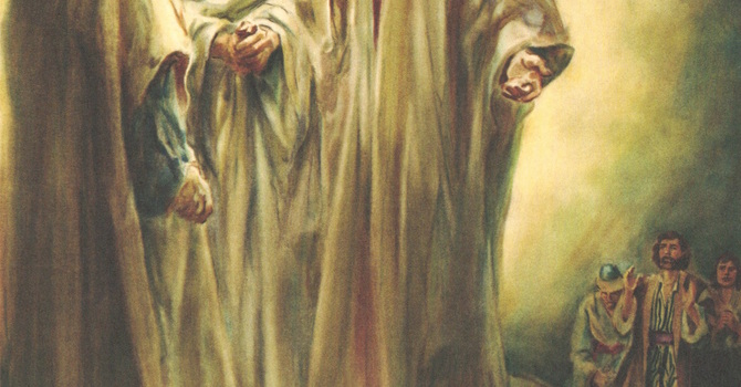 Worship Service Bulletin - Transfiguration of Our Lord image