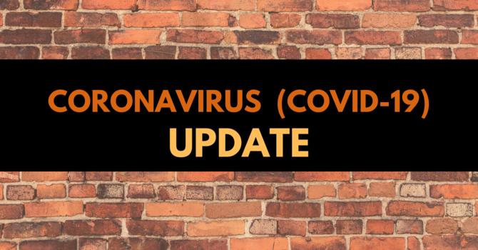 Coronavirus (Covid-19) Update image