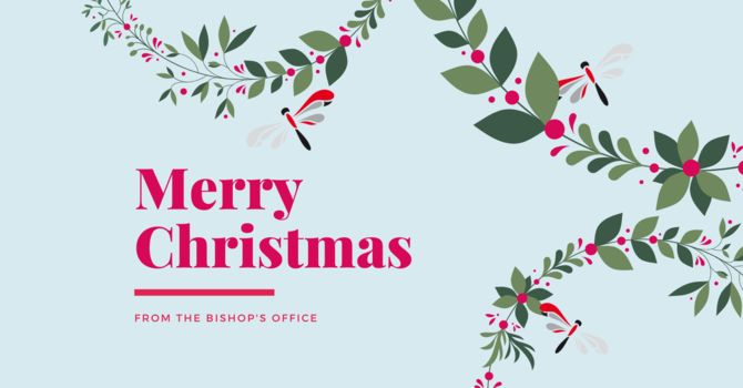 Christmas Greetings from the Diocese image