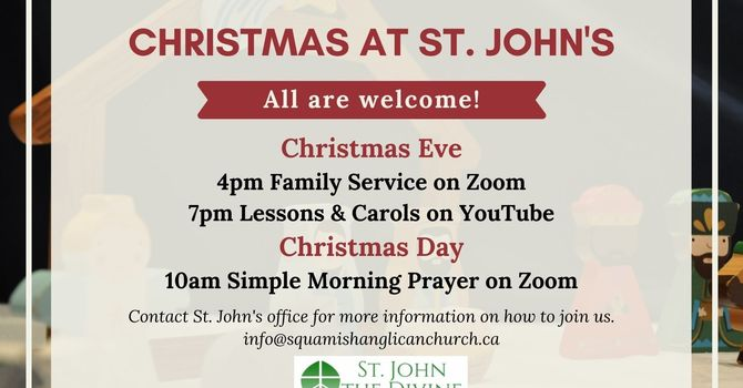 Christmas Services at St. John's image