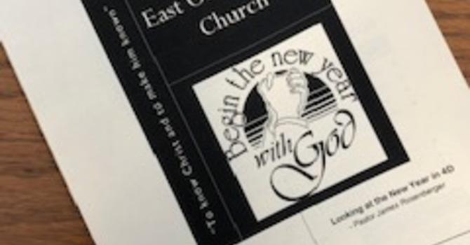 January 6, 2019 Church Bulletin image