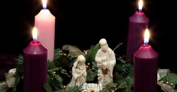 An Advent IV Reflection image