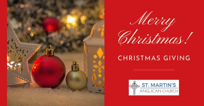 Christmas Giving image