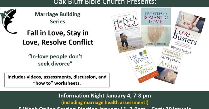 Marriage Building Series - Jan 11-Feb 8, 2021 image