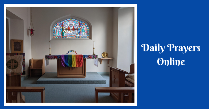 Daily Prayers for Friday, December 18, 2020