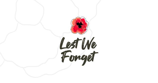 Lest We Forget image