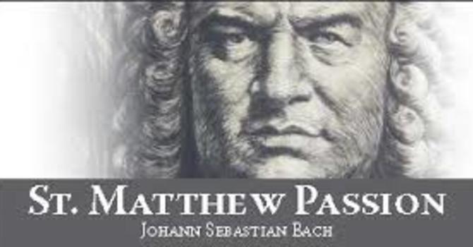 MATTHEW PASSION SERVICE