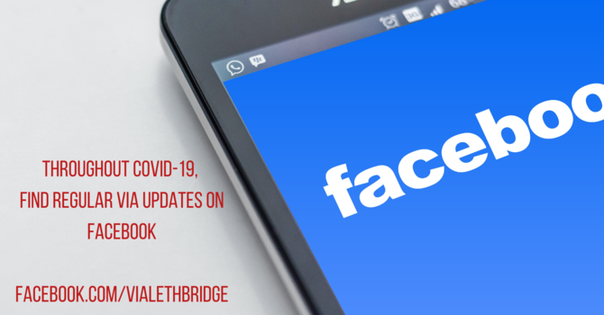 FIND US ON FACEBOOK FOR REGULAR UPDATES -  facebook.com/vialethbridge/ image