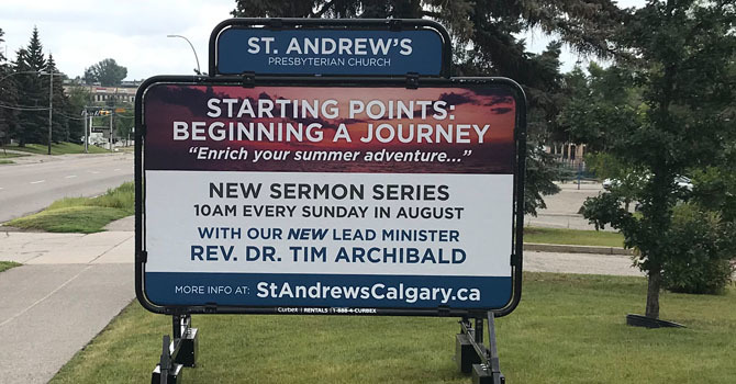 August Worship Series….  Starting Points: Beginning a Journey  image