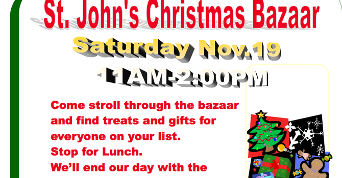 St. John's Christmas Bazaar image