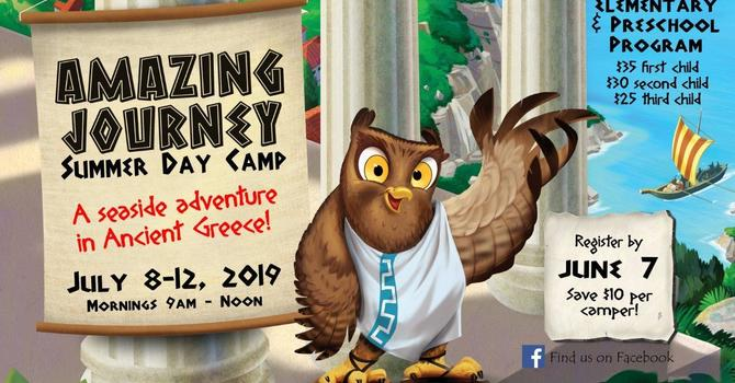 Amazing Journey Day Camp 2019 is Now Full - Waitlist being Taken image