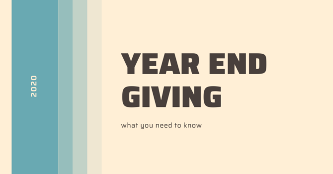 Year End Giving image