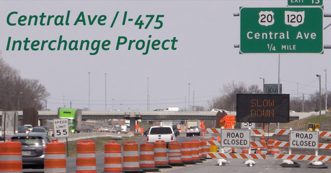 I475/Central Ave Interchange Project image