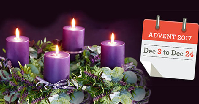 Advent  & Christmas Services 2017 image