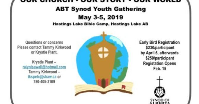 Anglican/Lutheran Youth Retreat