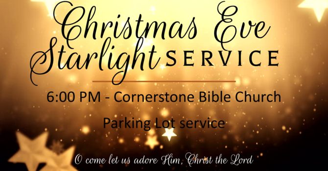 Christmas Eve Drive-In Service 2020 image