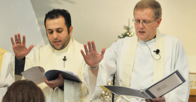 Reception of Ayoob Shawkat Adwar as Priest in the Anglican Church image
