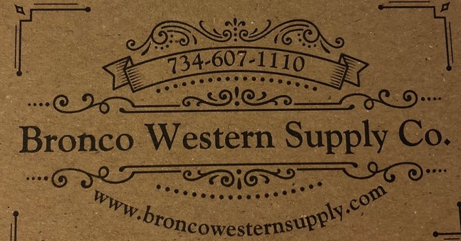 Bronco Western Supply Co. Makes Donation to Food Closet image