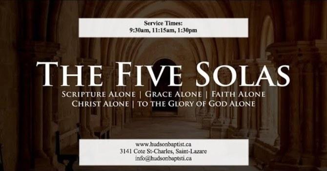 The Five Solas - 3 - Grace Alone