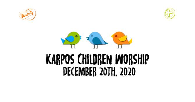 201220 Elementary Sunday Worship
