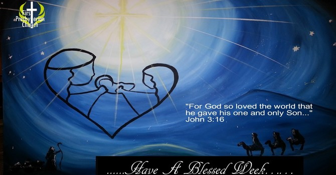 Sunday December 20 Message