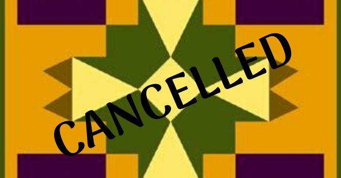 KAIROS Blanket Exercise: Cancelled, sorry.