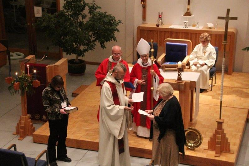 Celebration of a New Ministry  at St. Aidan and St. Bartholomew,  Gibson's Landing