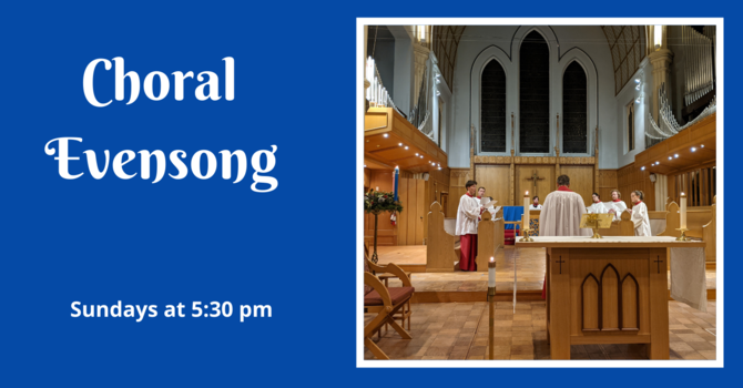 Choral Evensong - December 20, 2020
