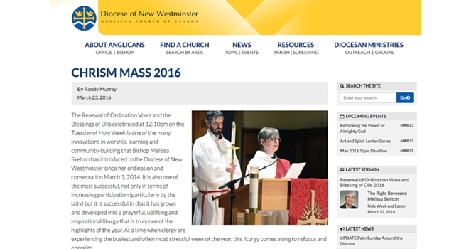 Diocesan Chrism Mass 2016 image
