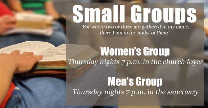 Thursday Life groups