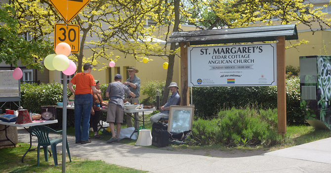 St Margaret's, Cedar Cottage Sale and Tea image