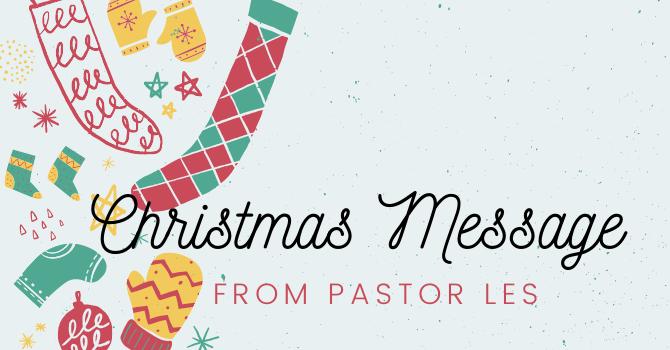 Christmas Message image