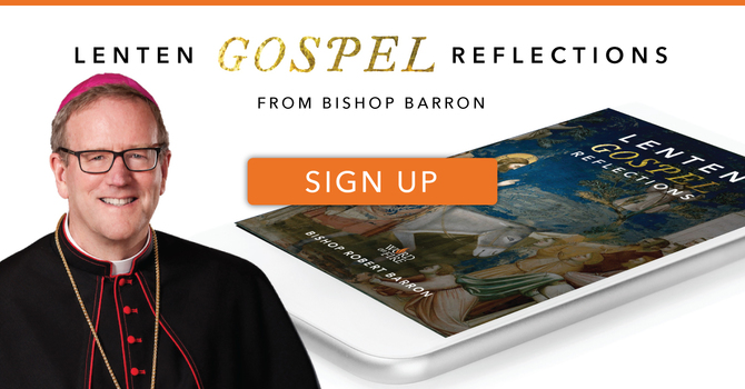 Bishop Barren's Lent devotions - Sign up here! image