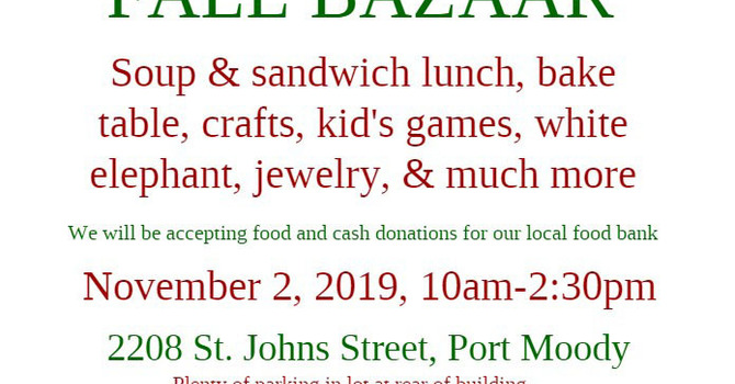 Fall Bazaar in Port Moody