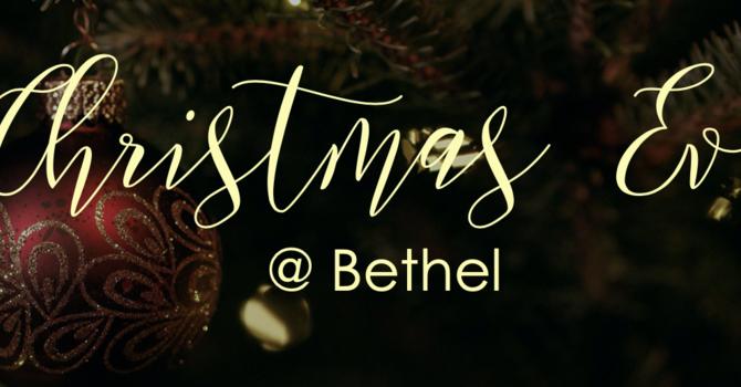 Christmas Eve @ Bethel image