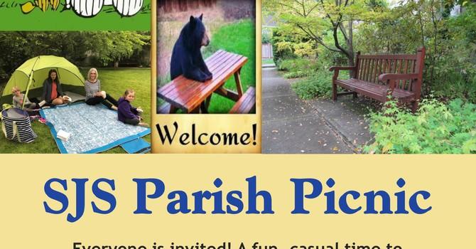 Parish Picnic in the SJS Gardens