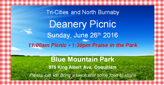 Tri-Cities & North Burnaby Deanery Picnic