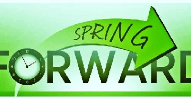 Spring Forward in March image