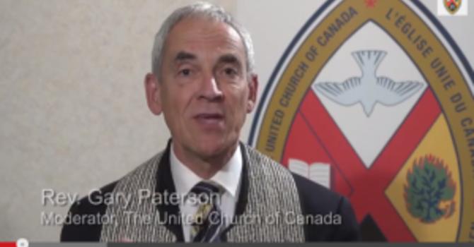 Embracing Change - UCC Moderator, Rev. Gary Paterson image