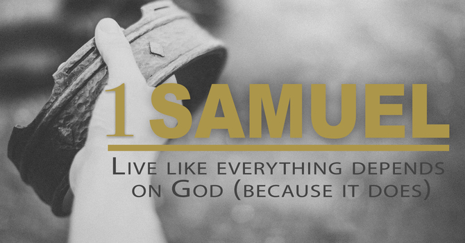 Live like everything depends on God (Because it does)