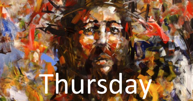 April 9: Maundy Thursday Morning/Evening Prayer