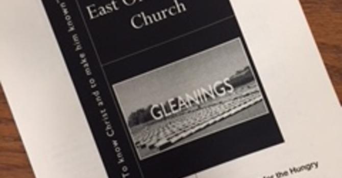 September 30, 2018 Church Bulletin image