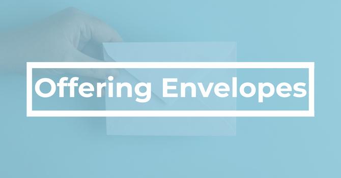 Offering Envelopes image