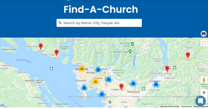 Find Locations for Online Christmas Worship image