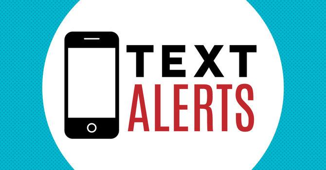 Text Alert image