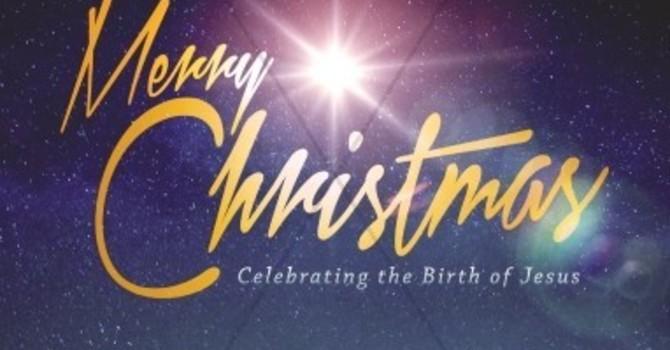 Bulletin: Christmas Eve & Christmas Day image