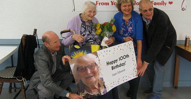 Jaye Edwards Turns 100! image