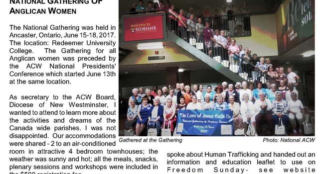 ACW News n' Views for September 2017 image