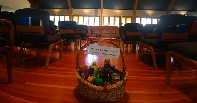 July Food Donations for Shelbourne Community Kitchen image