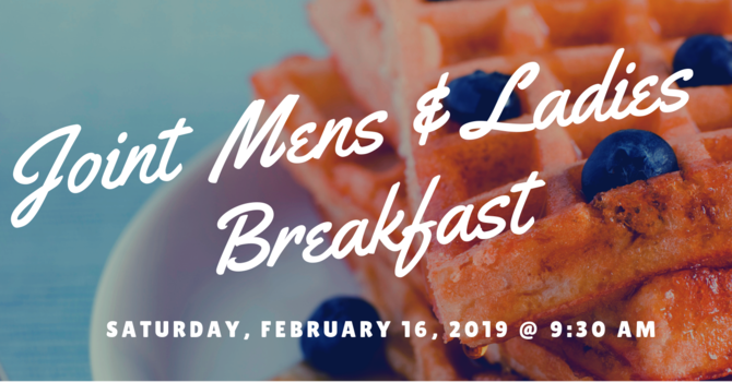 Joint Mens & Ladies Breakfast Cancelled